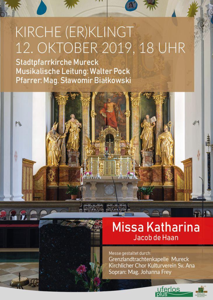 2019 Missa Katharina Plakat GTK Mureck