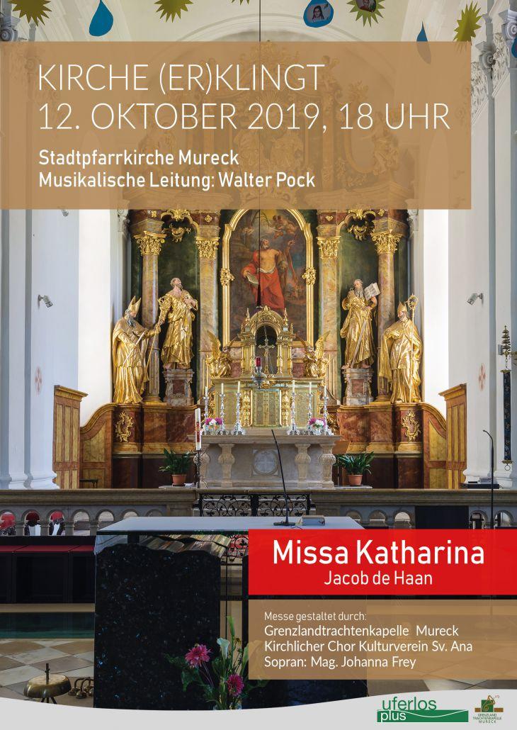 Missa Katharina GTK Mureck Plakat